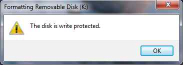 The Disk is write protected_How to fix it(Solved)