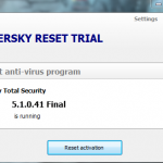 Kaspersky trial resatter 2018 v4.1.0.41 final(Latest)
