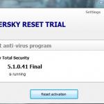 Kaspersky trial resatter 2018 v4.1.0.41 final(Latest)