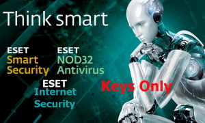 Esat Smart -Internet security-Nod32 Antivirus 2021 KEYS