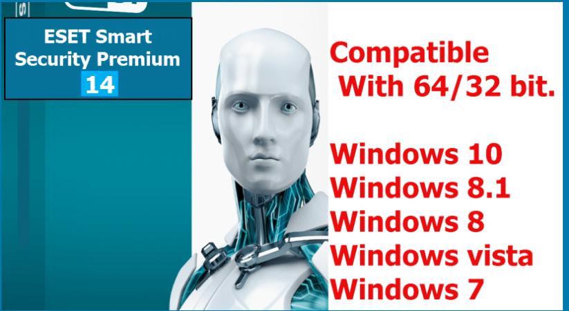 ESET internet Security 14(32bit/64bit) Full Version 2021