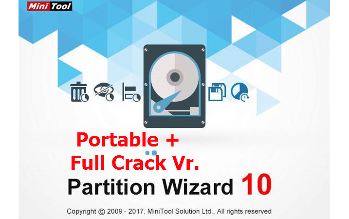 Minitool Partition wizard Professional 10 portable+Full Crack (Latest)