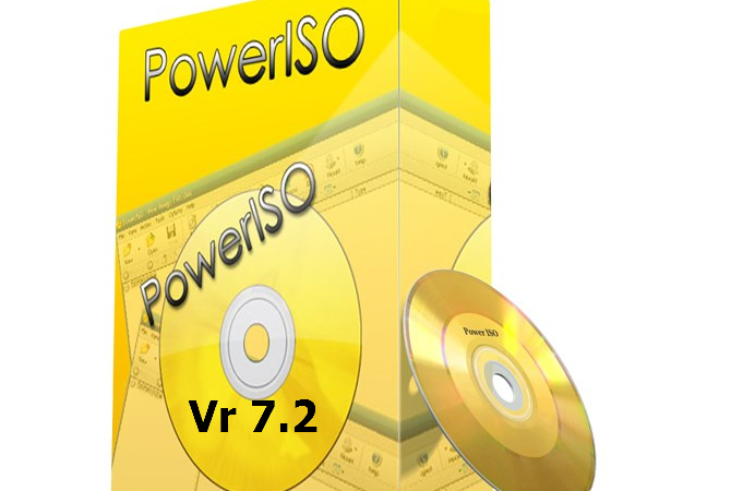 Download PowerISO 7.2 full(32/64)+Portable