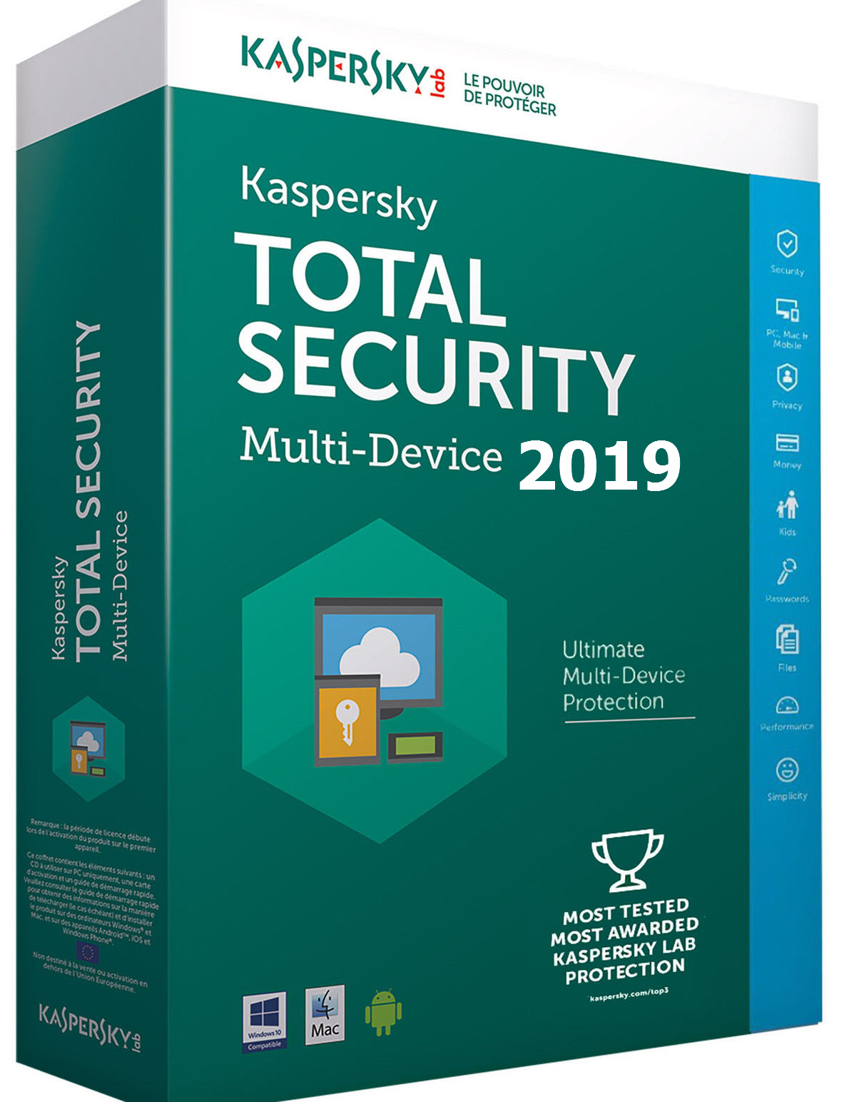 Kaspersky Total Security 2019 Activation Code For 1 Year