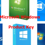 Microsoft Windows Product Keys/serial keys