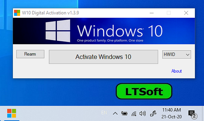 Windows 10 Digital Activation Program v1.3.9(Portable) Download