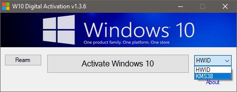 Windows 10 Digital Activation Program v1.3.6.0 Portable(Latest)