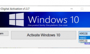 Windows 10 Digital Activation Program v1.3.7.0 Portable(Latest)