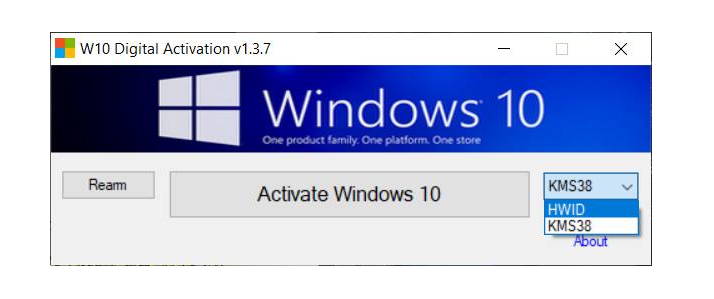 Windows 10 Digital Activation Program V1 3 7 0 Portable Latest Lt Soft