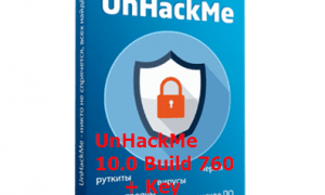 UnHackMe10.0 Build 760 + registration key
