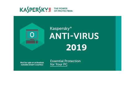Kaspersky Antivirus 2019 + Key/Activation code