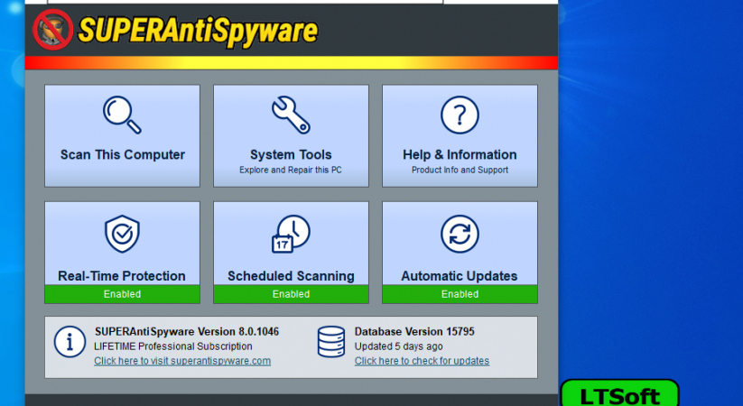 SUPERAntiSpyware Professional 8.0.1046+key Download