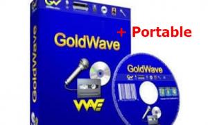 GoldWave 6.40 Full Version+Portable