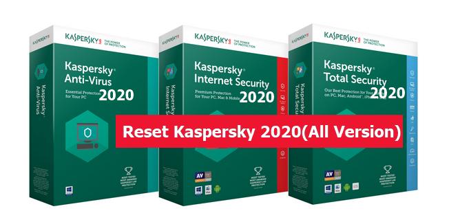 Kaspersky Trial Reset Tool 2020 v1.9.0.7(Latest)