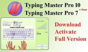 Typing Master Pro v10+Key
