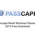 Reset Windows Password (Passcape) 2019