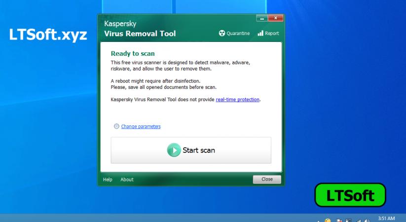Kaspersky Virus Removal Tool (KVRT) Portable