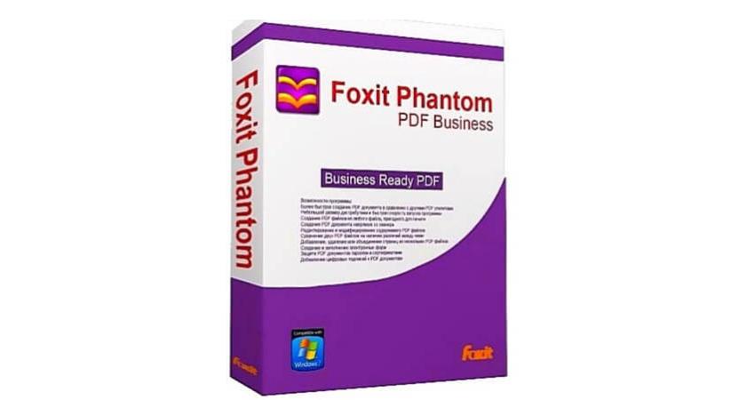 Foxit PhantomPDF Business Edition 9 free Download