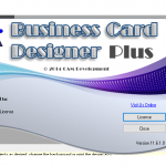 Business card designer plus free download