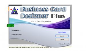 Business card designer plus free download