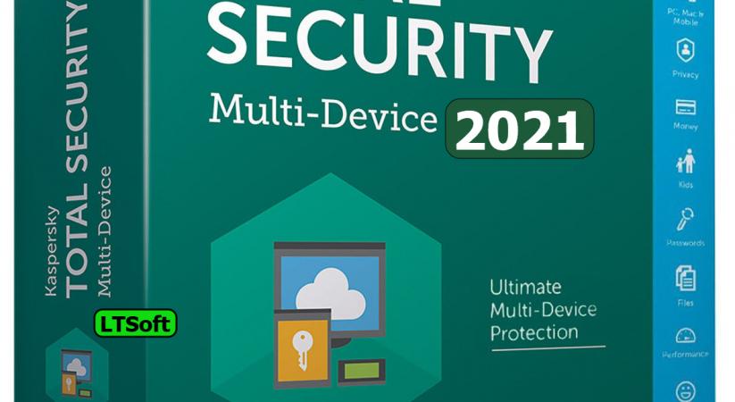 Kaspersky Total Security 2021 offline/Online installer+Key+Key file