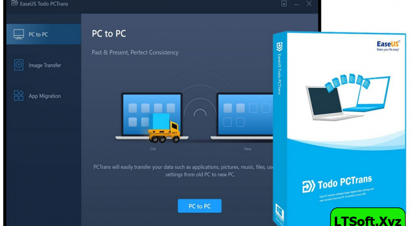 EaseUS Todo PCTrans Technician Pro full Latest version free Download