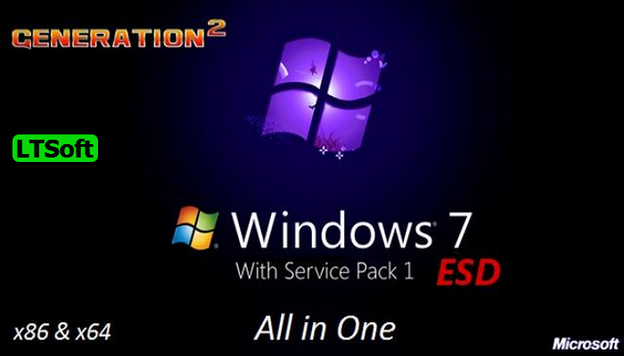 Windows 7 Sp1 x86 x64 Update 2021 free download