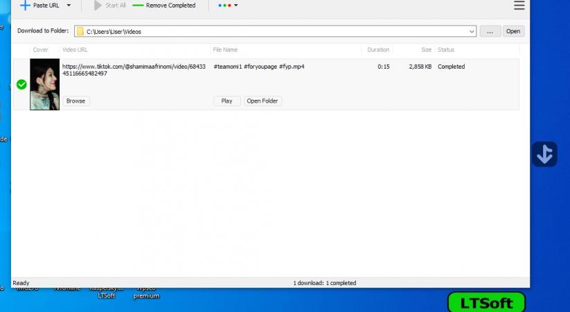 TikTok video downloader for pc