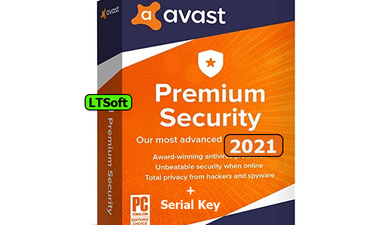 Avast Premium security 2021+Key/License file download
